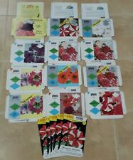 65 Vintage Unused Petunia Flower Seed Packets Envelopes Farm Garden Crafts