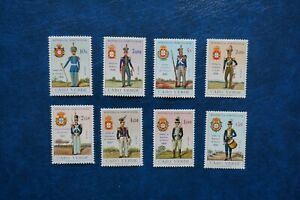 (G) PORTUGAL Cabo Verde Cape Verde 1965, Uniforms set**/MNH