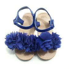 Girls Gymboree Sandals Size 9 Toddler Blue Floral
