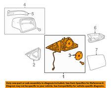 Mercedes MERCEDES-BENZ OEM E350 Door Side Rear View-Mirror Assy Right 2128102076