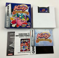 Kirby & The Amazing Mirror | Game Boy Advance GBA | Authentic Complete Tested