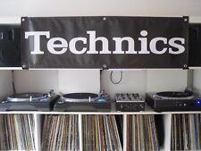 TECHNICS DJ BACK DROP TURNTABLE CDJ MIXER BANNER NUMARK VESTAX GEMINI PIONEER
