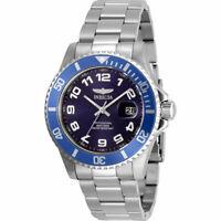 Invicta Men's Watch Pro Diver Quartz Blue Dial Stainless Steel Bracelet 30691