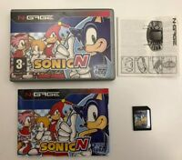 Sonic N for the Nokia N-Gage Phone / NGage Handheld Games Console - SonicN