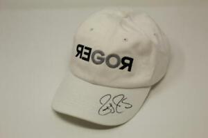 ROGER FEDERER SIGNED AUTOGRAPH UNIQLO BASEBALL HAT CAP - TENNIS GOAT, VERY RARE