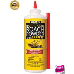 New Boric Acid Roach And Silverfish Killer Powder Long Lasting Food Grade16oz