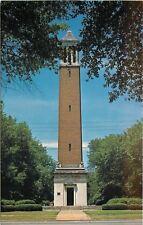 Tuscaloosa Alabama~University of Alabama~Denny Chimes~1970s Postcard