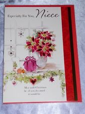 NIECE CHRISTMAS CARD TRADITIONAL CUTE INSERTED QUALITY JUVENILE KIDS HUGE CHOICE