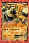 Regirock Ex 180pv 43/124 XY Impact des Destins Carte Pokemon Ultra Rare neuve fr
