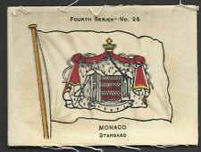 More details for ardath - flags 4th series (silk) - #25 monaco, standard