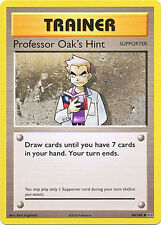 Professor Oak's Hint Uncommon Pokemon Card XY12 Evolutions 84/108