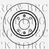BBD4951 BORG & BECK BRAKE DISC PAIR fits BMW 316i,318i,Z3 fits solid 90-