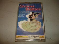 Laserlight Strauss Waltzes - Vienna Strauss Orchestra (Cassette 1988) Brand New