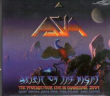 ASIA. SPIRIT OF THE NIGHT. THE PHOENIX TOUR LIVE CAMBRIDGE 2009. BRAND NEW CD