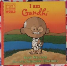 Ordinary People Change the World: I Am Gandhi by Brad Metzger c2017 New Hc