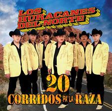Los Huracanes del No - 20 Corridos Pa' La Raza [New CD]