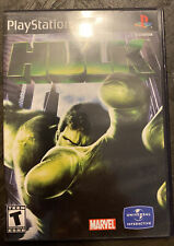 Hulk Sony PlayStation 2 PS2 Video Game Complete With Manual! Rare!