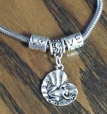 Love FROG Charm Bracelet Bangle Adjustable Handmade Jewelry Frog Bracelet New