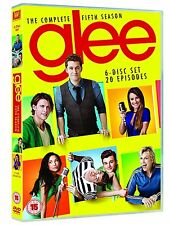 GLEE COMPLETE SERIES 5 DVD BOX SET All Episodes Season Brand New and Sealed UK