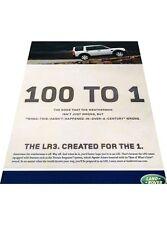 2008 Land Rover LR3 2-page Vintage Advertisement Car Print Ad J412