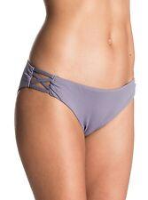 Roxy Strappy Me! 70's Secret Bikini Bottom Medium  ERJX403232