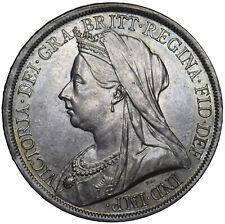 1893 LVII CROWN - VICTORIA BRITISH SILVER COIN - SUPERB