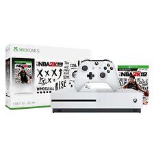 Microsoft Xbox One S 1TB NBA 2K19 Bundle, White