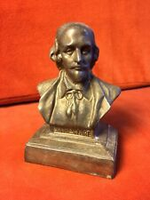 ANTIQUE SHAKESPEARE BUST BOOKEND
