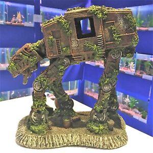 23cm Space Robot Dog Large Aquarium Futuristic Fish Tank Ornament SP1