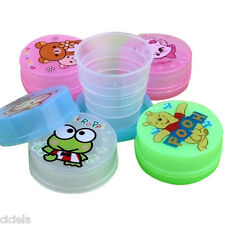 Cute Portable Telescopic Travel Cup Camping Hiking Collapsible Folding Mini Cup