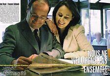 Coupure de Presse Clipping 2007 (8 pages) Ségolène Royal et Francois Hollande
