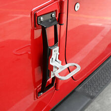 Foot pegs Side Step Running Board For Jeep Wrangler JK 2007+ 2,4 door NerF Bar