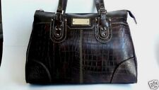 MAXXIMUM New York-Embossed Handbag Tote Purse Shopper Briefcase NWT MSRP- $359