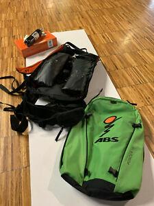 ABS Rucksack Powder Base inkl. 15l Packsack, Carbon Einheit gebraucht
