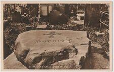 ST. PATRICK'S GRAVE DOWNPATRICK 1931 POSTCARD UN-POSTED VALENTINE'S 53306