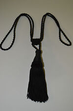 """Curtain & Chair Tie Back -30""""spread with 6""""tassel in 5 Bright colors."""