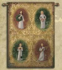 Willow Tree Four Seasons Angels Tapestry Wall Hanging
