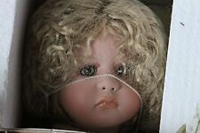 "Doll ""CHARITY"" angel holding the world by Linda Valentino-Michel #100"