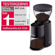 Cloer elektrische Kaffeemühle schwarz Kegelmahlwerk 7520 NEU (B-Ware)