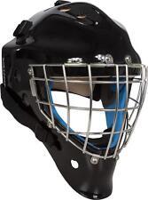 New Vaughn 9500 SB goalie face mask senior large black ice hockey sr goal helmet