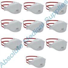 10 Pack 3m Aura Niosh N95 Particulate Respirator Face Mask White 1870