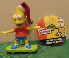 Bart Simpson Skate Boarding Christmas Tree Ornament Holiday Gift