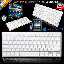 Slim Wireless Bluetooth Keyboard for Apple iMac iPad Android Phone Tablet PC