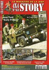 "4X4 STORY N° 63 / JEEP FORD "" EARLY PROJECT "" - JEEP JK 2?8L CRD GOLDEN EAGLE"