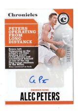 ALEC PETERS NBA 2017-18 PANINI CHRONICLES AUTOGRAPHS #/199 (PHOENIX SUNS)