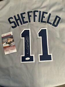 Gary Sheffield Autographed New York Jersey (Yankees)JSA