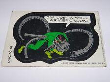 Topps - Dr. Octopus 1975 Marvel Super Hero Sticker