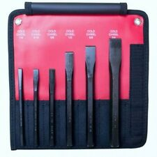 Mayhew Pro 6-Piece Cold Chisel Set Made in the USA 23127