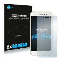 6x Displayschutzfolie Asus ZenFone Live ZB501KL Schutzfolie Klar Folie
