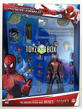 In STOCK Medicom Amazing Spiderman 2 Deluxe MAFEX Action Figure Set PX